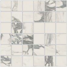 Imperial Mosaico 5x5 Naturale Bianco Arabescato - dlaždice mozaika 30x30 bílá