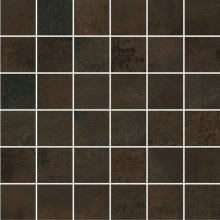 Mosaico 5x5 Bronzo - dlaždice mozaika 30x30 hnědá