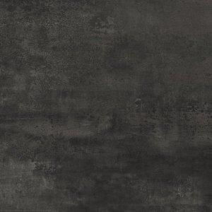 Forge Dark 20 mm Rettificato - dlaždice rektifikovaná 80x80 černá, 2 cm