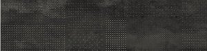 Forge Struttura Metal Mix Dark Rettificato - dlaždice rektifikovaná 30x120 černá
