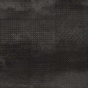 Forge Struttura Metal Mix Dark Rett. - dlaždice rektifikovaná 60x60 černá