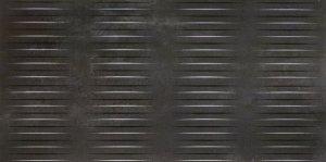 Forge Struttura Stream Dark Rett. - obkládačka rektifikovaná 60x120 černá