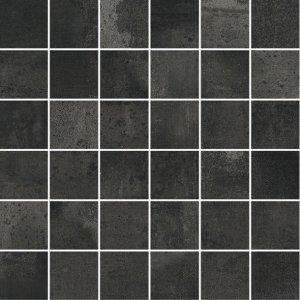 Forge Mosaico 5x5 Dark - dlaždice mozaika 30x30 černá