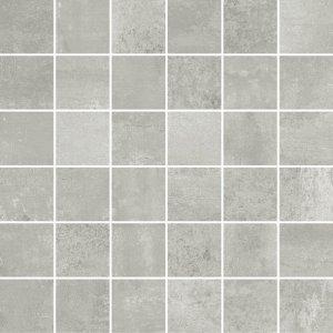 Forge Mosaico 5x5 Alluminio - dlaždice mozaika 30x30 šedá