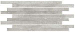 Forge Muretto Alluminio - dlaždice mozaika 30x60 šedá