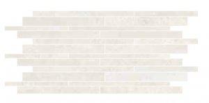 Oxy Muretto Bianco - dlaždice mozaika 30x60 bílá
