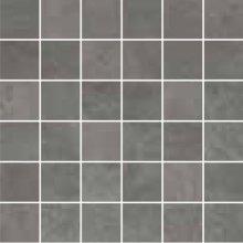 Oxy Mosaico 5x5 Antracite - dlaždice mozaika 30x30 šedá