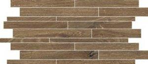 Artwood Mattoncino Clay - dlaždice mozaika 30x60 hnědá