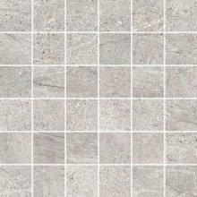 Mosaico 5x5 Rock Grey - dlaždice mozaika 30x30 šedá