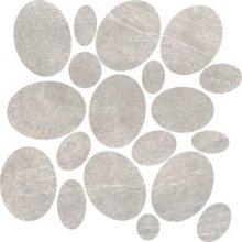 Sassi Rock Grey - dlaždice mozaika 30x30 šedá