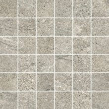 Mosaico 5x5 Oxide - dlaždice mozaika 30x30 šedá