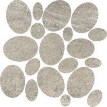 Sassi Oxide - dlaždice mozaika 30x30 šedá