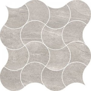 VaiI Mos. Peacock Grey Lev.- dlaždice mozaika 30x30 šedá