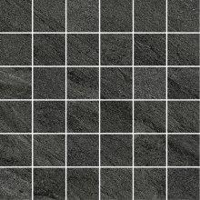 Allblack Mosaico 5x5 Nero - dlaždice mozaika 30x30 černá
