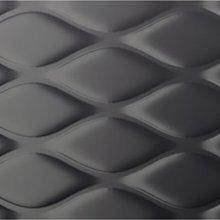 Chic Trama Carbone Lux - obkládačka rektifikovaná 35x100 černá