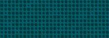 Chic Decoro Bubbles Petrolio - obkládačka inzerto 35x100 modrá