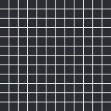 Chic Mosaico 2,5x2,5 Carbone - obkládačka mozaika 30x30 černá