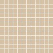 Chic Mosaico 2,5x2,5 Nocciola - obkládačka mozaika 30x30 béžová