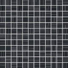 Chic Mosaico Lumiere Carbone - obkládačka mozaika 30x30 černá
