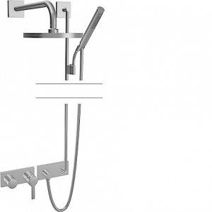 Hansaronda (Hansamatrix) - Podomítková sprchová baterie - instalační balíček 8.9, vrchní sada