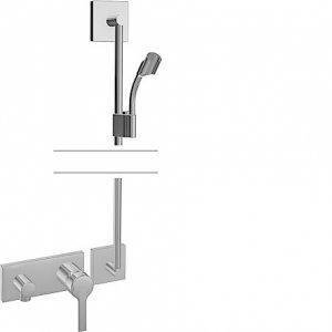 Hansaronda (Hansamatrix) - Podomítková sprchová baterie - instalační balíček vrchní sada