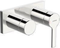Hansaronda (Hansamatrix) - podomítková baterie s 2cestným ventilem, vrchní sada