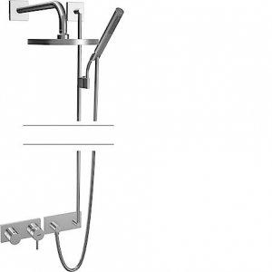 Hansastela (Hansamatrix) - Podomítková sprchová baterie - instalační balíček 8.7, vrchní sada