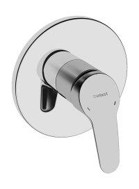 Hansamix - Podomítková sprchová baterie, vrchní sada, pro Hansabluebox