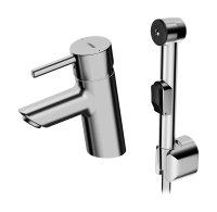 Hansavantis Bidetta - páková umyvadlová baterie s ruční sprchou