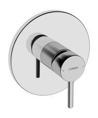 Hansavantis Style - podomítková sprchová baterie, vrchní sada, pro Hansabluebox