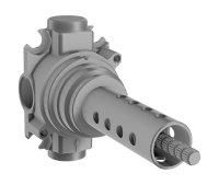 Hansa - podomítkové těleso pro vícecestný ventil, G 1/2, DN 15