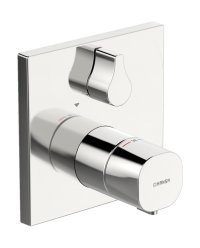 Hansaliving - termostatická podomítková baterie, vrchní sada