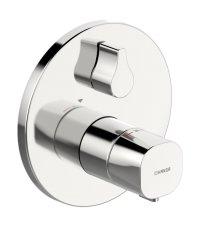 Hansaliving - termostatická podomítková vanová baterie, vrchní sada