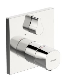 Hansaliving - termostatická podomítková sprchová baterie, vrchní sada