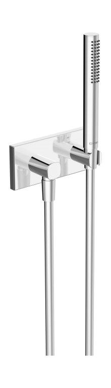 Hansaliving (Hansamatrix) - podomítková sprchová souprava, vrchní sada