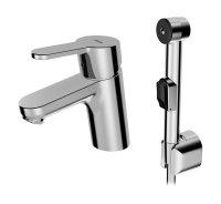 Hansaprimo Bidetta - páková umyvadlová baterie s ruční sprchou
