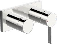 Hansaloft (Hansamatrix) - podomítková baterie s 2cestným ventilem, vrchní sada