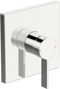 Hansaloft - podomítková sprchová baterie, vrchní sada, pro Hansabluebox