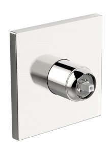 Hansavarox Pro - podomítková sprchová baterie, vrchní sada