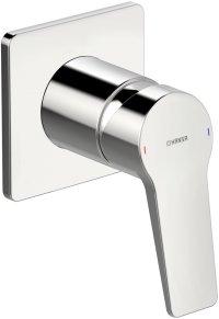 Hansatwist - podomítková sprchová baterie, vrchní sada