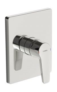 Hansapolo - podomítková sprchová baterie, vrchní sada, pro Hansabluebox