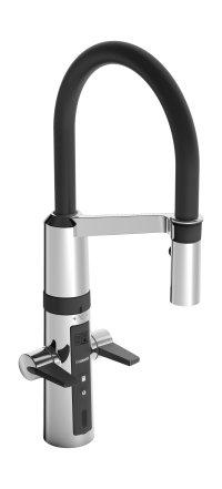 Hansafit Hybrid - kuchyňská elektronická, páková baterie, ventil pro myčku