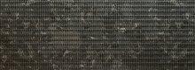 Scoria black str - obkládačka rektifikovaná 32,8x89,8 černá