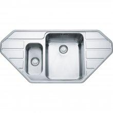 Epos EOX 652 E nerez - kuchyňský dřez 105,3x51,3