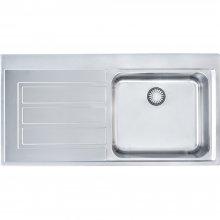 Epos EOX 611 nerez - kuchyňský dřez 100x51