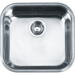 Quadrant QAX 610 nerez - kuchyňský dřez 44,5x41,5