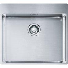 Box BXX 210/610-54 TL nerez - kuchyňský dřez 57x51