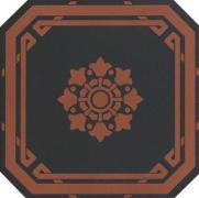 Old England Ottagono Black Chester - dlaždice osmihran 20x20