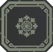 Old England Ottagono Black Bath - dlaždice osmihran 20x20