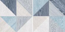 Melange Blue - dlaždice 33,15x33,15 modrá